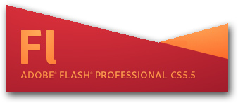 Adobe Flash Professional CS5.5 logo