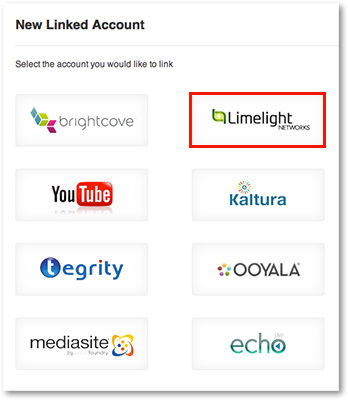 Select Limelight Captioning Integration