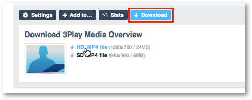 Download Vimeo mp4 video
