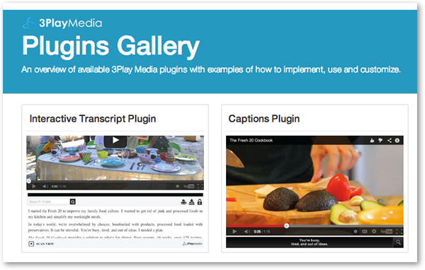 interactive plugins gallery