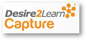 Desire2Learn Capture logo