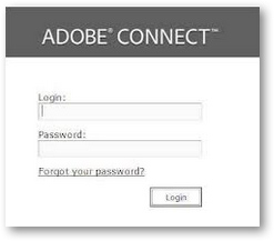 Adobe Connect Login